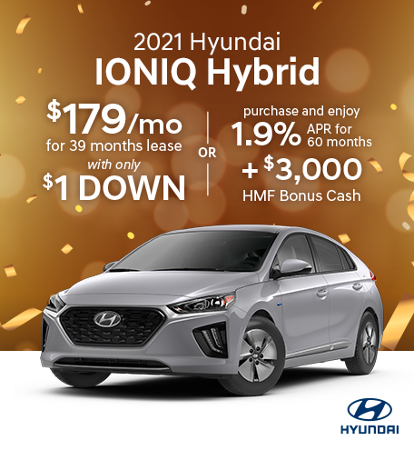 hyundai ioniq specials houston tx