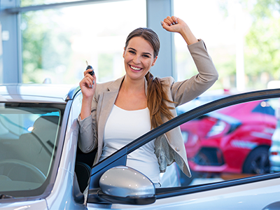 the dealer makes selling your vehicle simple