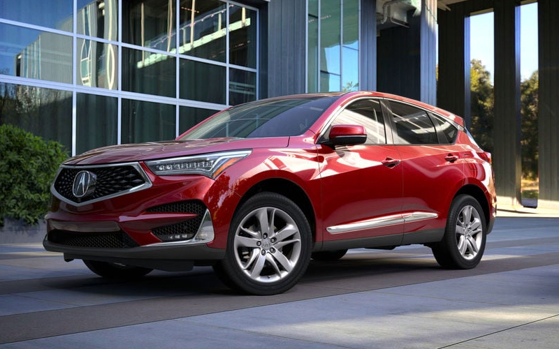acura rdx performance red pearl