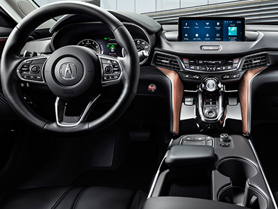 dimensions of the acura tlx