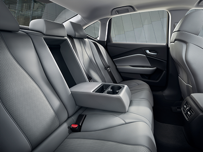 seating of the acura tlx