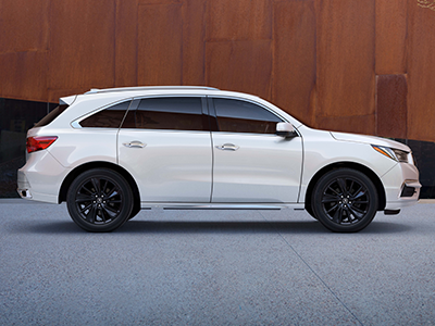 what is the curb weight of the mdx?