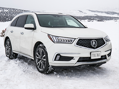 ground clearance of the acura mdx