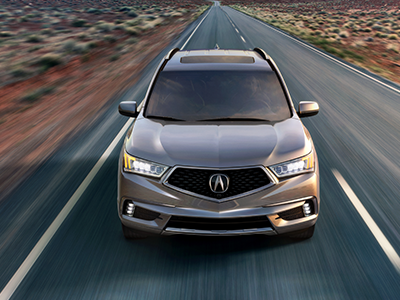 how much horsepower in the acura mdx?