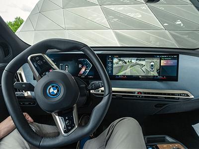 technology 2022 BMW iX