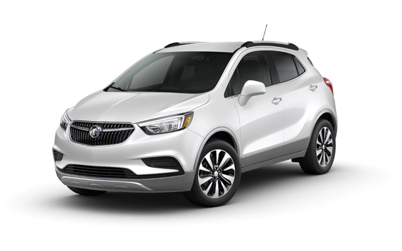 white frost tricoat buick encore
