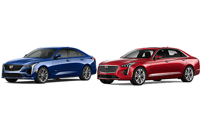 new 2020 Cadillac CT4 vs CT6 comparison features specs