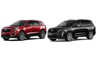 new 2020 Cadillac XT5 vs XT6 comparison features specs