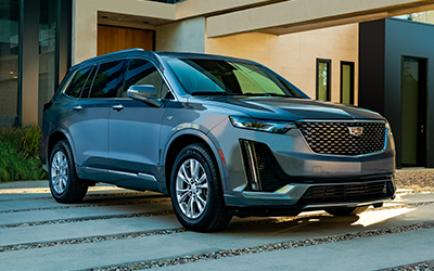 exterior colors of the cadillac xt6 for 2021 houston tx