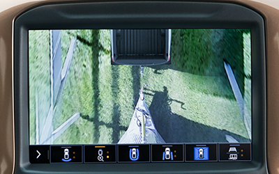 2020 chevy silverado trailering camera system four angles