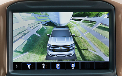 parking views 2020 chevy silverado trailering system