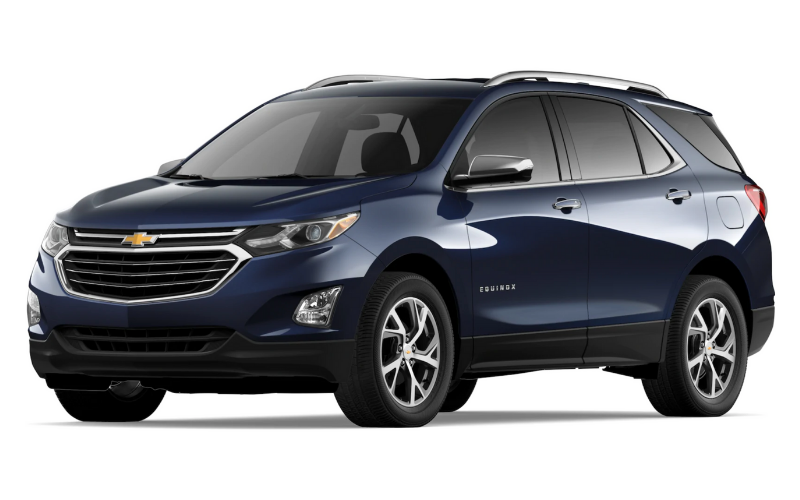 chevrolet equinox midnight blue metallic