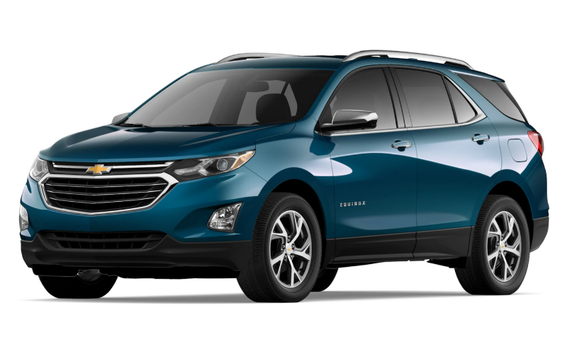 chevrolet equinox pacific blue metallic
