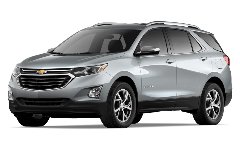 chevrolet equinox silver ice metallic