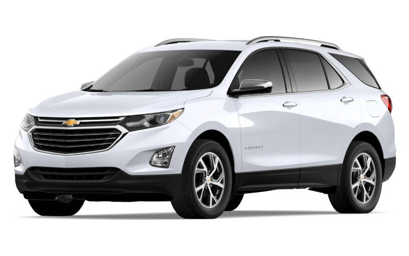 chevrolet equinox summit white