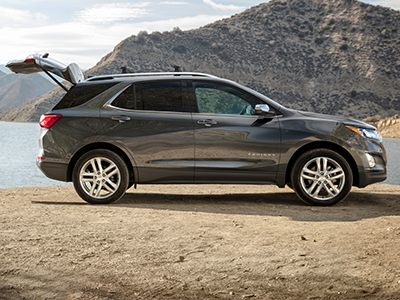 What is the Horsepower of the Equinox?