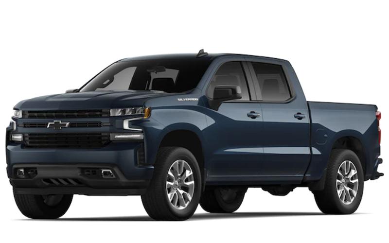 chevrolet silverado northsky blue metallic