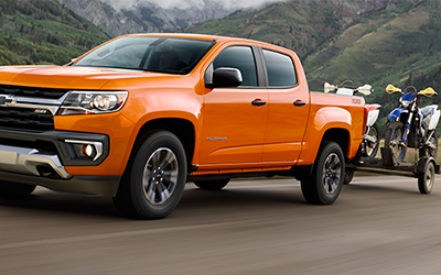 how much towing capacity does the chevy colorado have?