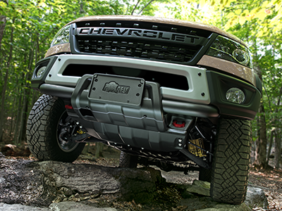 Ground Clearance of the Chevy Colorado