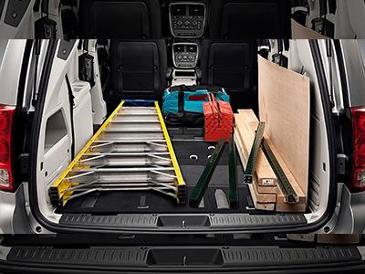 dodge grand caravan interior cargo dimensions The Dodge Caravan: Cargo Space, Trims & Seating [Images]