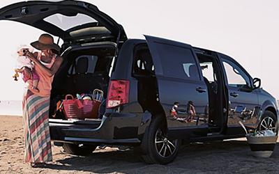 dodge caravan interior exterior dimensions