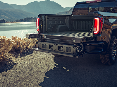 gmc sierra 2020 tailgate easy access