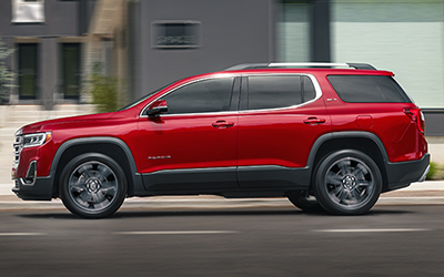 what is the max tow weight of the gmc acadia?