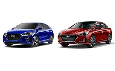 new 2020 Hyundai Ioniq vs Sonata comparison features specs