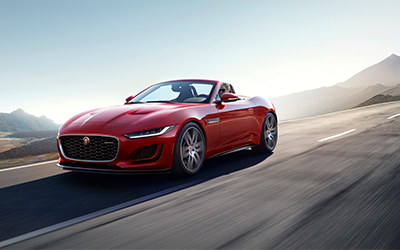 what are specs of the 2021 jaguar f-type engine?