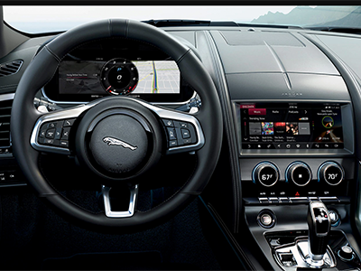 technology 2022 Jaguar F-TYPE