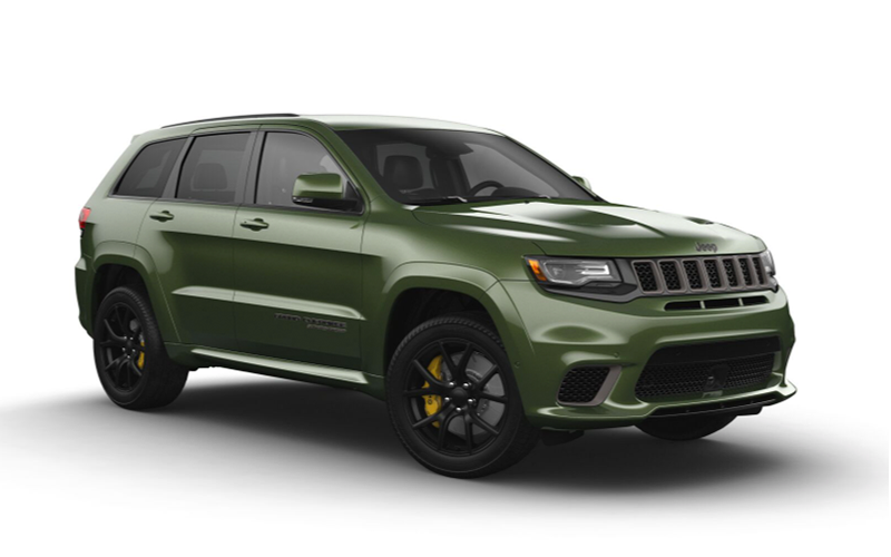 green metallic jeep grand cherokee tulsa ok