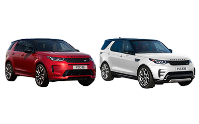new 2020 Land Rover Discovery vs Discovery Sport comparison features specs