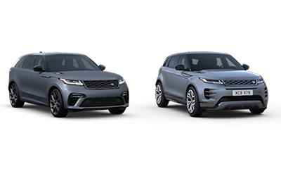 new 2020 Land Rover Evoque vs Velar comparison features specs