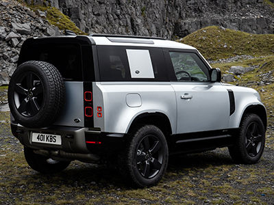 Land Rover Defender 90 performance features
