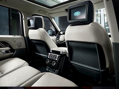range rover interior & exterior dimensions