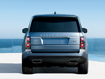 range rover seating features