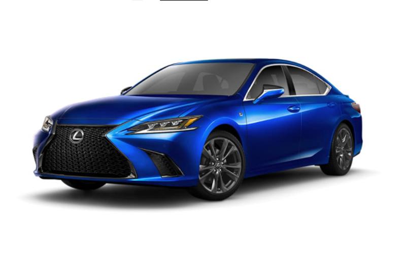 lexus es 350 ultrasonic blue mica 2.0 (es f sport) houston tx