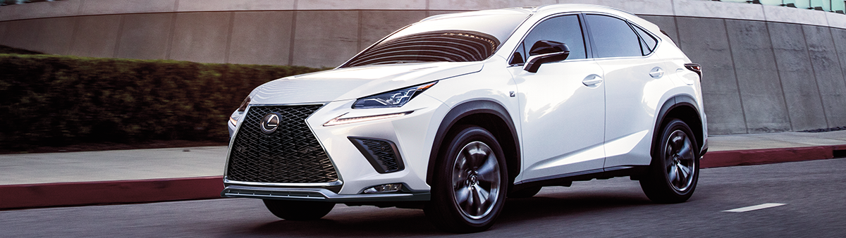colors of the 2021 lexus nx