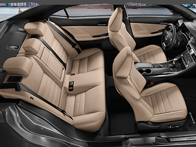 interior dimensions of the lexus is