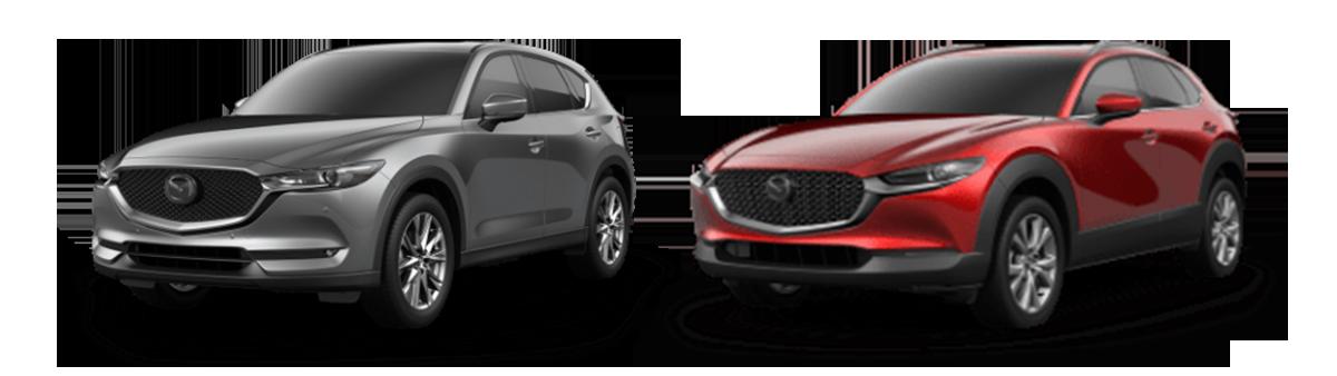 comparison 2020 Mazda CX-5 vs CX-30 Houston TX