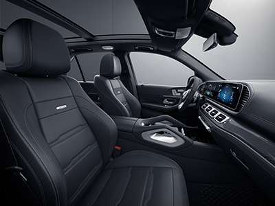 interior dimensions of the mercedes-benz gle