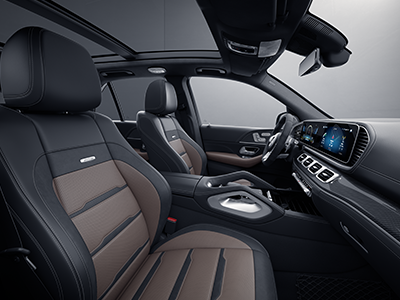 seating of the mercedes-benz gle