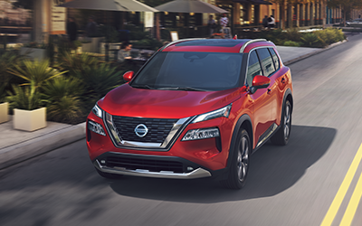 what is the nissan rogue trim level performance for 2021?