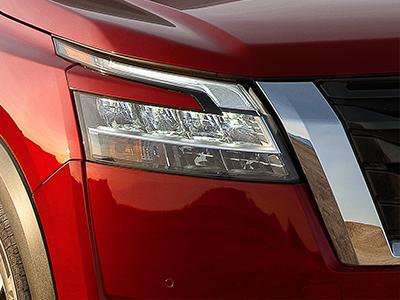 Nissan Pathfinder design features