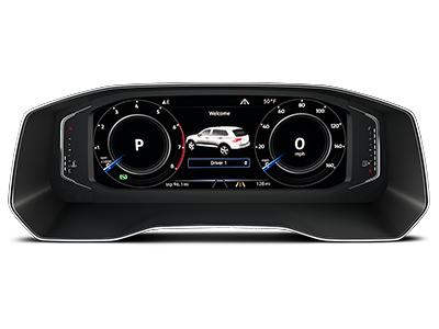digital cockpit 2020 volkswagen tiguan