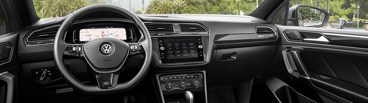 review Volkswagen Tiguan Digital Cockpit View San Diego CA