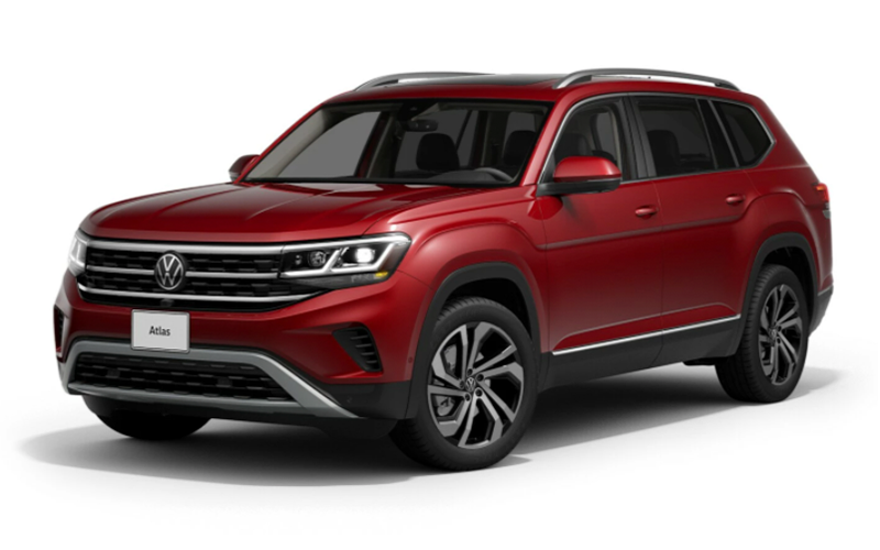 volkswagen atlas aurora red metallic beaumont tx