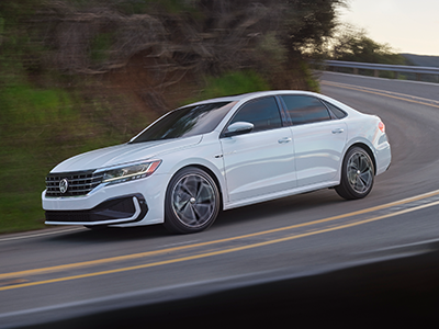 What is the Horsepower of the Passat?