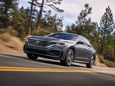 What is the Top Speed of the Passat?