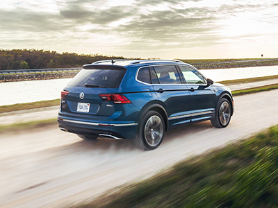 What is the Top Speed of the Tiguan?